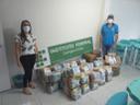 Trinta famílias receberam as doações do IFPB Solidário