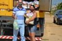 Na cidade, foram doadas 30 cestas básicas