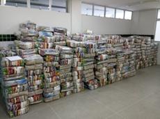 Alimentos foram comprados com recursos do Programa Nacional de Alimentação Escolar