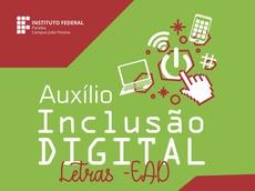 Edital para auxílio equipamentos é coordenado pelo Campus João Pessoa, responsável pelo curso de Letras
