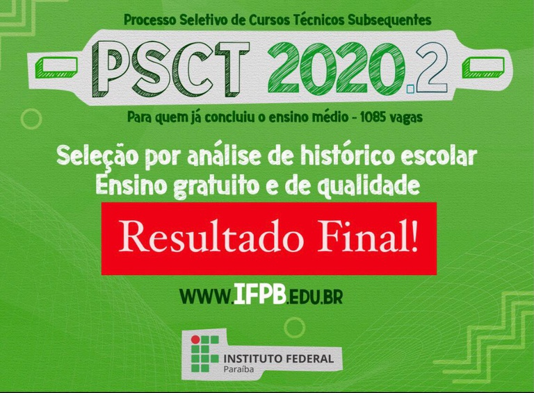resultado final sub 2020.1