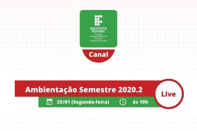 Ambientação 2020.2