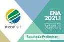 Profnit ENA 2021 análise currículo preliminar