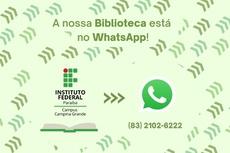 Data marca o início do atendimento do setor a estudantes, por meio do aplicativo WhatsApp