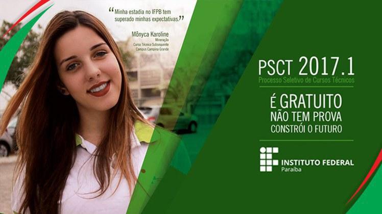 Campus Catolé do Rocha divulga Edital da 3ª Chamada para Pré-Matrícula dos Candidatos Classificados no PSCT 2017