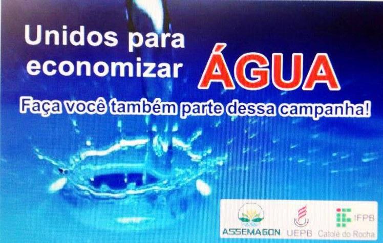 Projeto visa sensibilizar a sociedade para a preservação e utilização da água