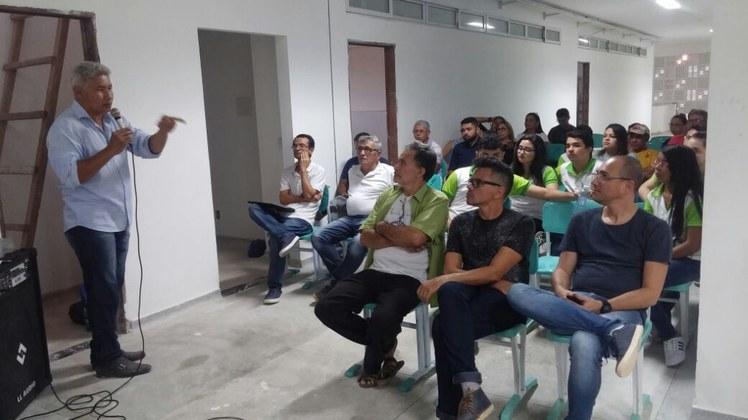 O evento ocorreu na futura sede definitiva do Campus Catolé do Rocha