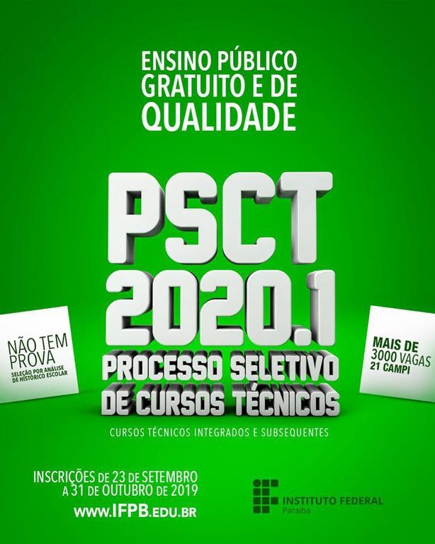 Para o campus Catolé do Rocha estão sendo ofertadas 140 vagas