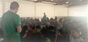 Palestra na Escola Municipal Olímpia Souto com a temática da consciência negra
