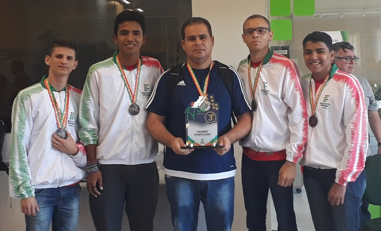 Equipe de Xadrez do IFPB participou da etapa Nordeste dos Jogos dos Institutos Federais – 2018.