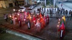 A procissão foi realizada no último dia 10 de abril e atraiu muitas pessoas pelas ruas da cidade de Guarabira