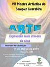 """O evento acontecerá dia 11 de março e terá como tema: """"Arte expressão mais sincera da alma"""""""