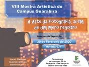 """O evento tem como tema esse ano: """"arte da fotografia, além de um mero registro"""""""
