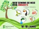 III Semana do Meio Ambiente - IFPB Campus Itabaiana