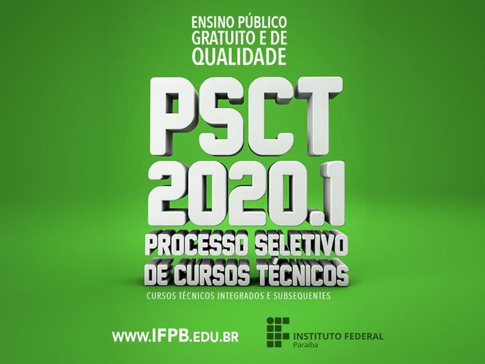 Divulgado o edital de confirmação de matrícula e lista de indeferidos da quarta chamada do Campus Itabaiana do PSCT 2020.