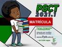 PSCT 2021 - Matrícula