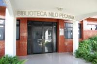 Fachada da Biblioteca Nilo Peçanha