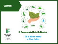 O evento será virtual e ocorrerá nos dias 29 e 30 de junho e 01 de julho