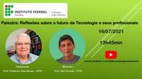 O evento terá como convidado o professor Frederico Dias Nunes, da UFPE