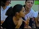Matéria sobre virgindade exibida na TV Tambaú no Programa Gente Fina com alunos do CEFET-PB. 2000.