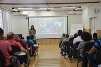 O evento contou com atividades teóricas e práticas nos turnos da manhã e tarde