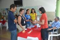 Os participantes receberam orientações sobre nutrição, saúde bucal e prevenção de doenças