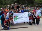A atividade fez parte do projeto Corrida de Orientação do Campus João Pessoa