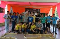 A Competição de Robótica e Lançamento de Foguetes movimentaram a tarde do penúltimo dia do evento