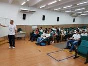 O fechamento do curso preparatório ocorreu na manhã de ontem (08)