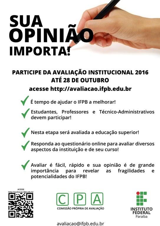 CPA avaliação Institucional