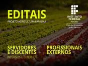 Podem se inscrever servidores, discentes e profissionais internos e externos ao IFPB para atuar como pesquisadores e extensionistas. Inscrições até dia 30