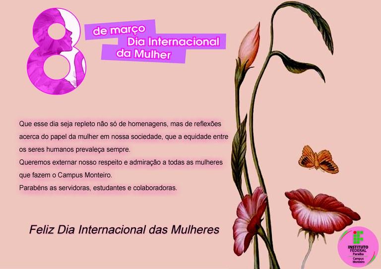 Homenagem as mulheres