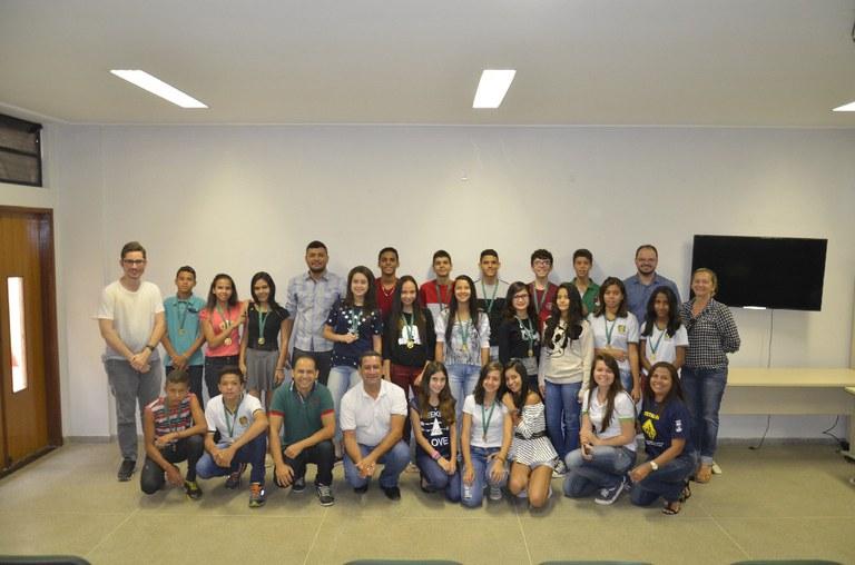 Projeto de fundamentos de lógica de programação para alunos do 9° ano do ensino fundamental das escolas do município.