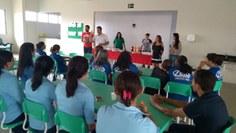 A comemoração reuniu seguranças, auxiliares de serviços gerais, motoristas, recepcionistas e demais funcionários que servem ao Campus Monteiro diariamente