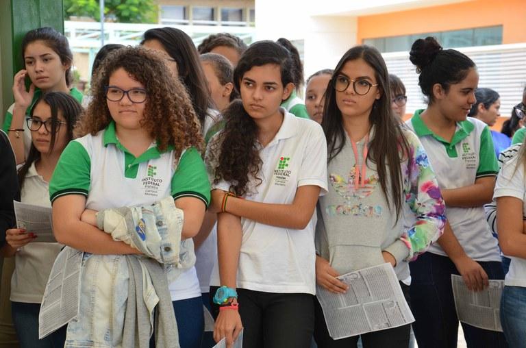 Parabéns a todas as mulheres do IFPB campus Monteiro, vamos celebrar o respeito a mulher sempre