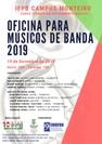 A programação contaremos com diversas oficinas, além de apresentações musicais que serão realizadas para toda a população de Monteiro e região