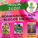 Campus Monteiro realiza a 5ª Edição do IFOLIA valorizando a cultura e a história de blocos tradicionais da folia de Momo: Galo da Madrugada, Muriçocas do Miramar e O Homem da Meia Noite
