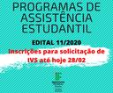 EDITAL 11_2020 banner principal prorrogação.png
