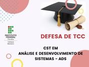 No dia 26 de julho de 2021, às 20H30, acontecerá a defesa de TCC da discente Ionara Jaqueline Farias Oliveira, do curso de ADS. Em função do período de isolamento social pelo COVID-19, a defesa ocorrerá totalmente em ambiente virtual por meio da ferramenta Google Meet, de forma pública.