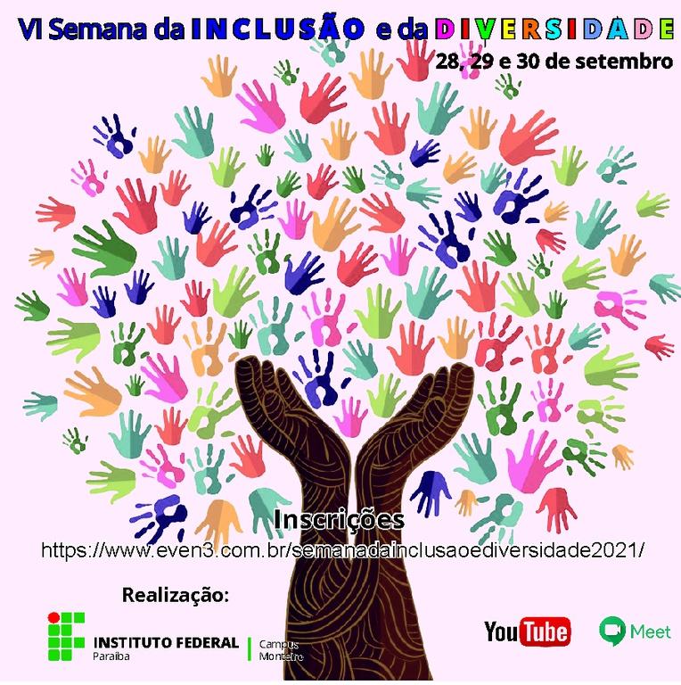 Evento será realizado no período entre 28 a 30 de setembro, em formato virtual, com transmissões pelo Youtube e Google Meet