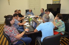 Reunião da Reitoria do IFPB com a diretoria do SINTEFPB.