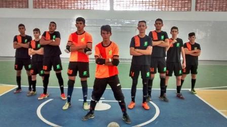 Equipe de Picuí, campeã de Futsal.