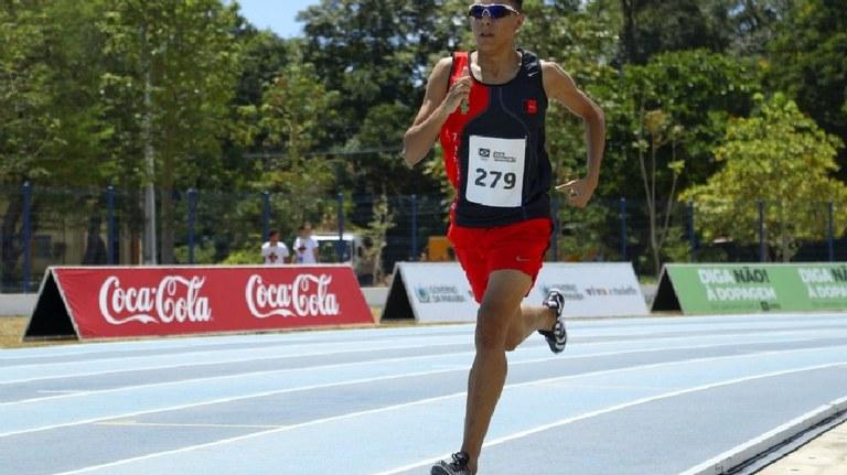 Matheus Alves - Campeão Brasileiro de Atletismo