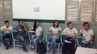 Equipe gestora se reuniu com estudantes e servidores com ampla pauta