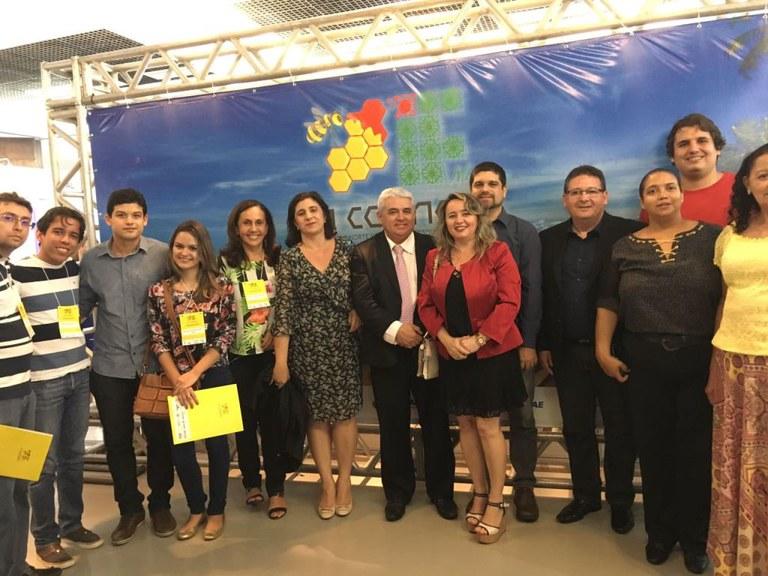 O IFAL mesclou na noite de abertura do XI Connepi uma representação fiel da cultura alagoana, além de uma mesa com autoridades da educação nacional e internacional