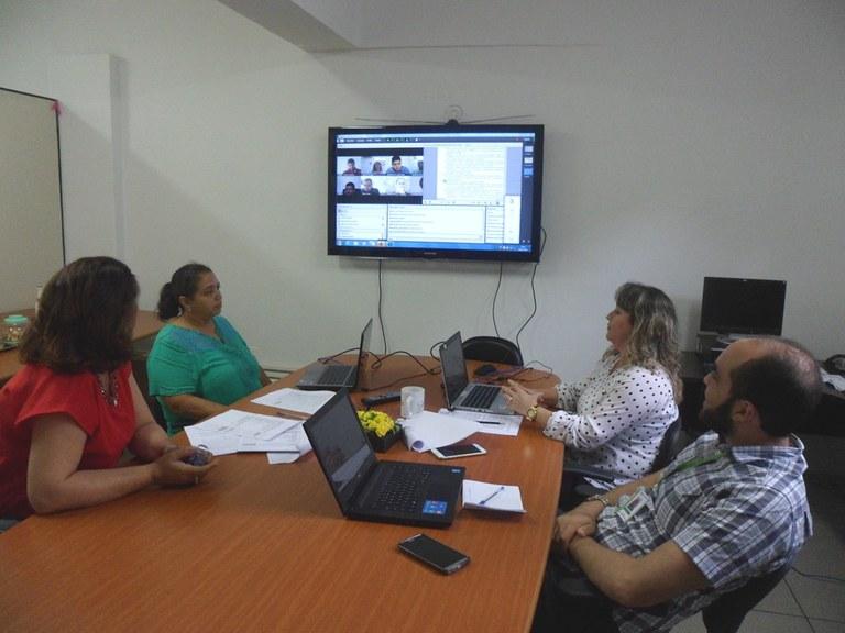 Reunião videoconferência PRPIPG