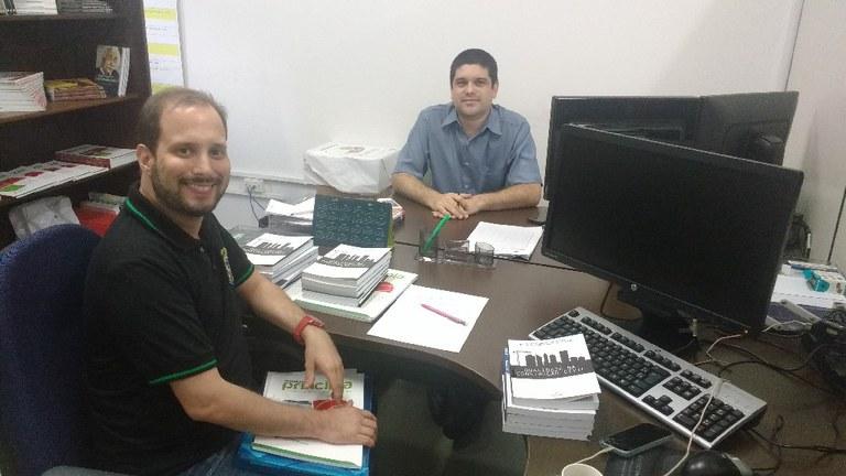 Danilo Régis e Flávio Albuquerquer