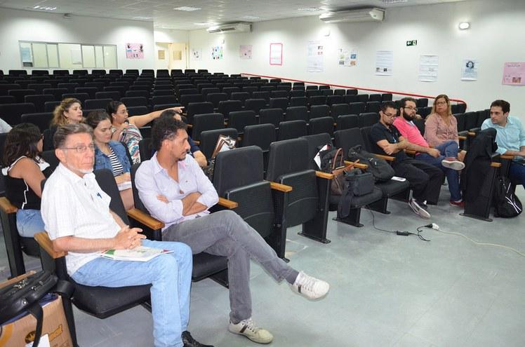 Momento de diálogo aconteceu na Reitoria Itinerante