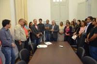 Abraão Romão e Joselito Eulâmpio receberam os termos de posse como DGs em Monteiro e Princesa Isabel, respectivamente