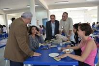 Equipamento vai beneficiar inscritos no auxílio alimentação. Uma sala para o Napne também foi entregue à comunidade pelo reitor Nicácio Lopes